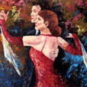 Two To Tango Art Print