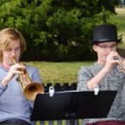 Two Trumpets Art Print