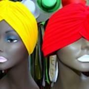 Two Turbans Art Print