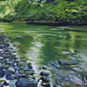 Twolick Creek Art Print