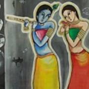 Gulzar..mora Gora Rang  Art Print