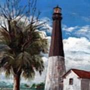 Tybee Lighthouse Art Print