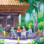 Tylers Donuts Art Print
