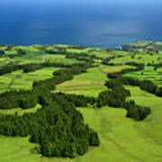 Typical Azores Islands Landscape Art Print