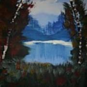 Typical Lake Art Print