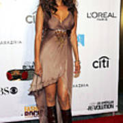 Tyra Banks At Arrivals For Conde Nast Art Print