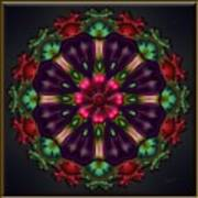 u028 Wholehearted Hibiscus Art Print