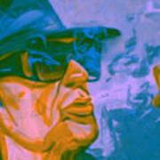 Udo Lindenberg Die Coole Socke 4 Pop Art Pur Art Print