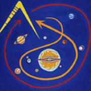 Ufo Universe Art Print