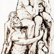 Ugolino And His Sons Art Print