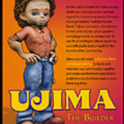 Ujima The Builder Art Print