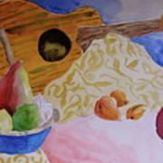 Ukelele Art Print