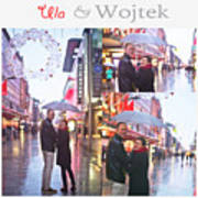 Ula And Wojtek Engagement 2 Art Print