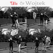 Ula And Wojtek Engagement 3 Art Print
