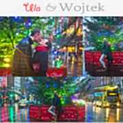Ula And Wojtek Engagement 4 Art Print