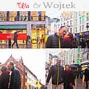 Ula And Wojtek Engagement 5 Art Print