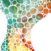 Ultra Modern Art - Colorforms 2 - Sharon Cummings Art Print
