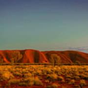 Uluru/ayers Rock Art Print