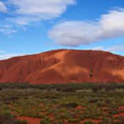 Uluru Art Print by Pamela Kelly Phillips