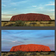 Uluru Sunset Art Print