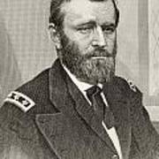 Ulysses S. Grant, 1822 To 1885. Union Art Print