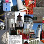 Umpqua River Lighthouse Collection Art Print