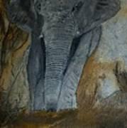 Un Elephant Ca Trompe Enormement Art Print