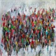 Un Gachis De Peinture  Art Print by Brooke Wandall