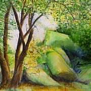 Un Rincon En El Valle De Los Suenos Art Print