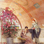 Unconscious Rivals Art Print by Sir Lawrence Alma Tadema