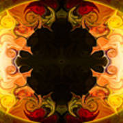 Undecided Bliss Abstract Healing Artwork By Omaste Witkowski Art Print