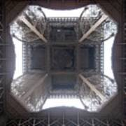 Under Eiffel Art Print