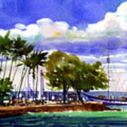 Under Maui Skies Art Print