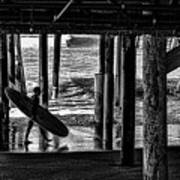 Under The Boardwalk Art Print by Tommy Anderson