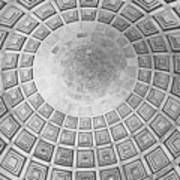 Under The Dome At The Jefferson Memorial Art Print