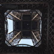 Under The Eiffel Art Print