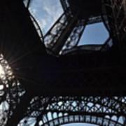 Under The Eiffel II Art Print