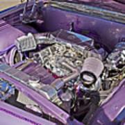 Under The Hood 66 Impala_1b Art Print