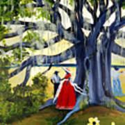 Under The Mossy Oak Art Print