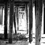 Under The Pier Print by Linda Woods