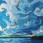 Under The Storm Art Print