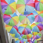 Under Umbrellas Art Print