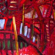 Underneath The Bridges Art Print