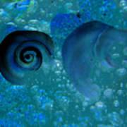 Underwater Eye Art Print