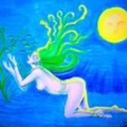 Underwater Fantasy Art Print