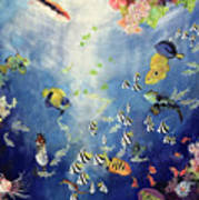 Underwater World II Print by Odile Kidd