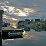 Unesco World Heritage Site - Peggy's Cove - Nova Scotia Art Print