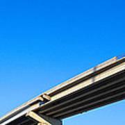 Unfinished Freeway Ramp Art Print