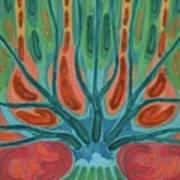 Unfinished Tree Art Print