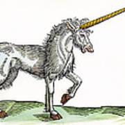 Unicorn, 1607 Art Print